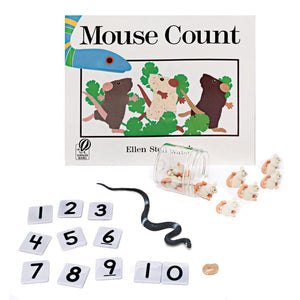 Mouse Count 3d Storybook