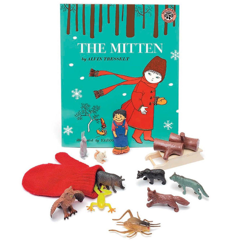 The Mitten 3d Storybook
