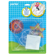 Small & Large Clear Pegboards 5pk Basic Shapes