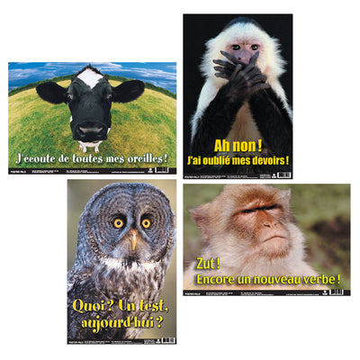 Fun Photo Posters Set #5 French