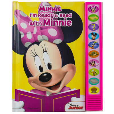 (3 Ea) Im Ready To Read Minnie Mouse