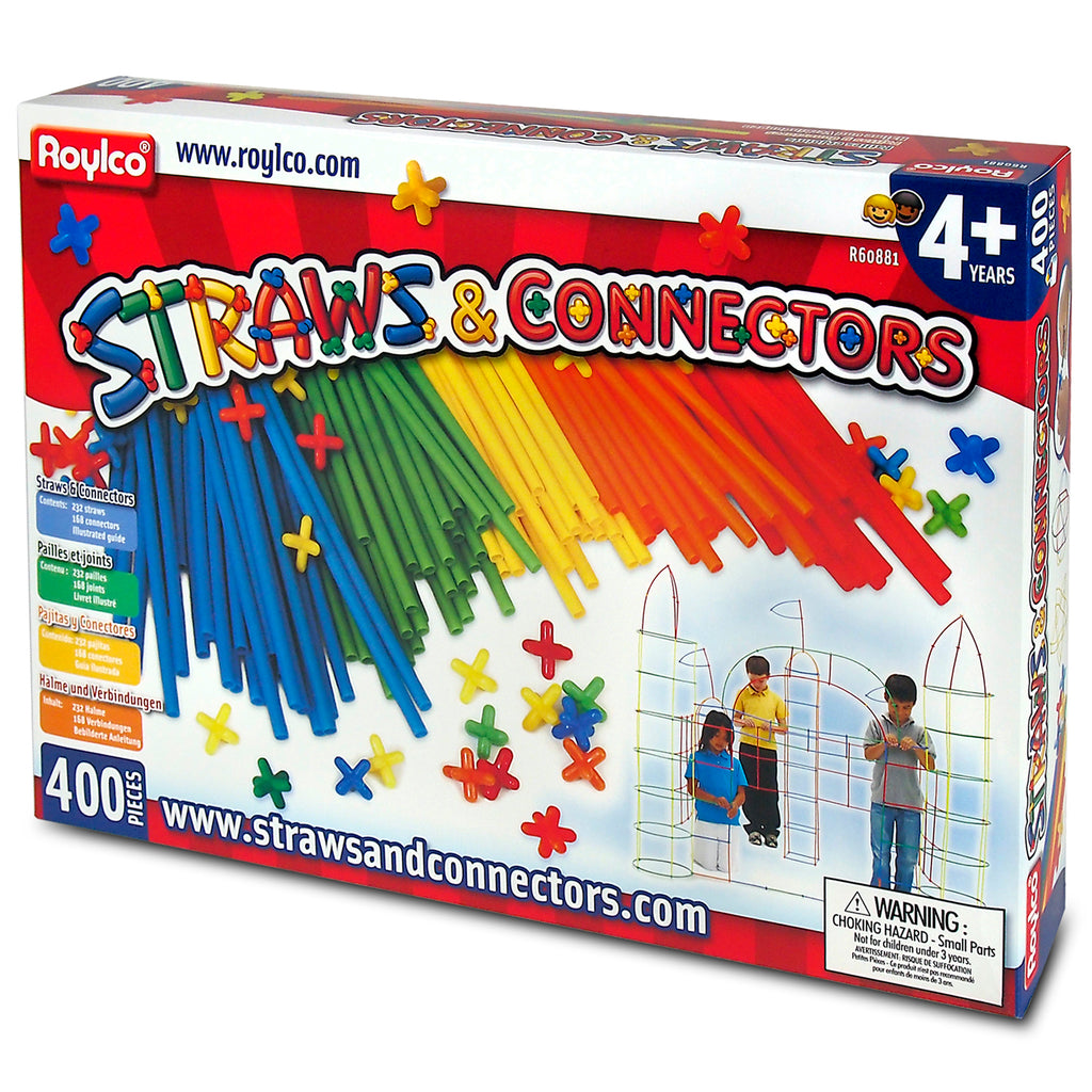 Straws & Connectors 400pcs