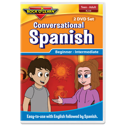 Conversational Spanish For Teens & Adults 2 Dvd Set - Student Spotlight
