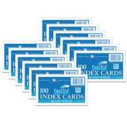 (12 Pk) Index Cards 3 X 5 Ruled