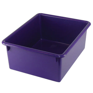 (4 Ea) Stowaway Letter Box Purple No Lid 13-1-8 X 10-1-2 X 5-1-4