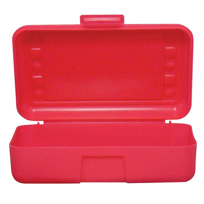 (12 Ea) Pencil Box Red
