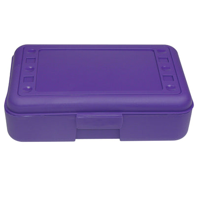 (12 Ea) Pencil Box Purple
