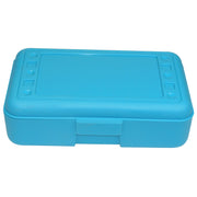 (12 Ea) Pencil Box Turquoise