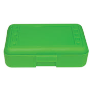 (12 Ea) Pencil Box Lime Opaque