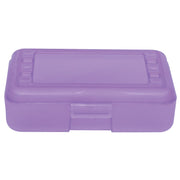 (12 Ea) Pencil Box Grape