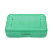 (12 Ea) Pencil Box Lime Sparkle