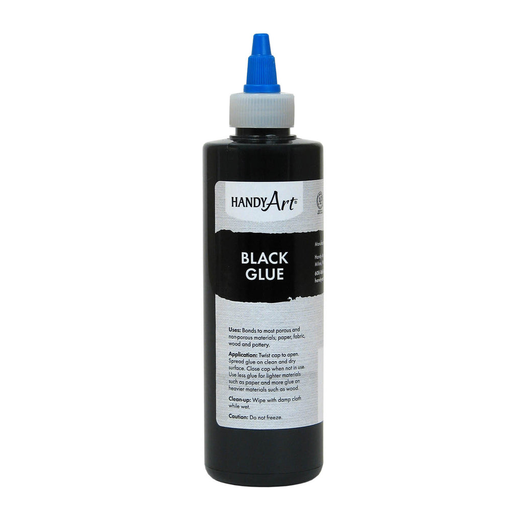 Handy Art Black Glue 8oz