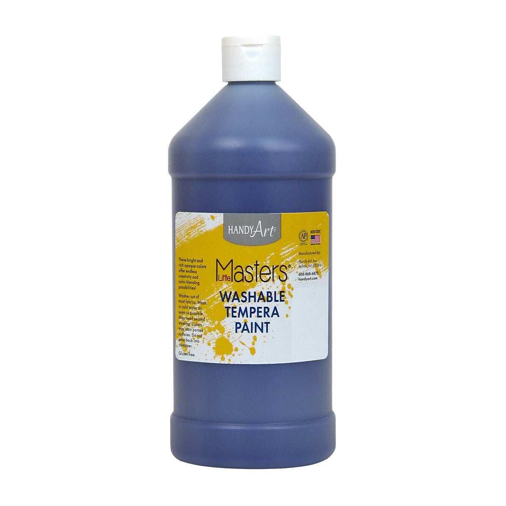 Little Masters Violet 32oz Washable Paint