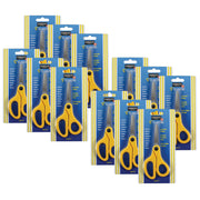 (12 Ea) Childs Safety Scissors 5in Blunt Tip Left Or Right Handed - Student Spotlight