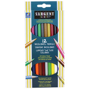 (12 Dz) Sargent Art Bicolored Pencils