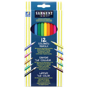 (12 Pk) Sargent Art Colored Pencils 12 Per Pk
