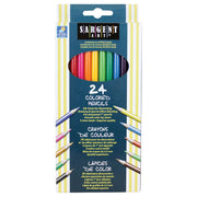 (6 Bx) Sargent Art Colored Pencils 24 Per Pk