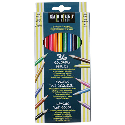 Sargent Art Colored Pencils 36 Colors