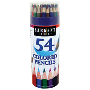Colored Pencils 54 Colors Tub