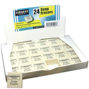 Soap Erasers Pack Of 24 - Student Spotlight