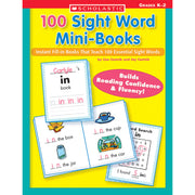 100 Sight Word Mini-books - Student Spotlight
