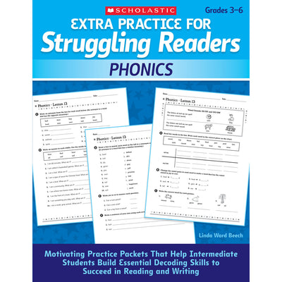 Struggling Readers Phonics Extra Practice