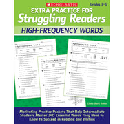 Struggling Readers High-freq Words Extra Practice