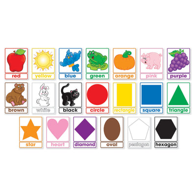 (2 St) Colors & Shapes Bulletin Board
