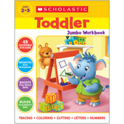 Scholastic Toddler Jumbo Workbook - Student Spotlight