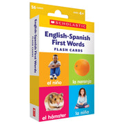 Flash Cards English-spanish First Words - Student Spotlight