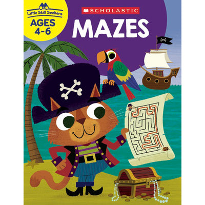 (6 Ea) Little Skill Seekers Mazes - Student Spotlight