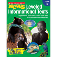 Gr 3 Scholastic News Leveled Info Texts