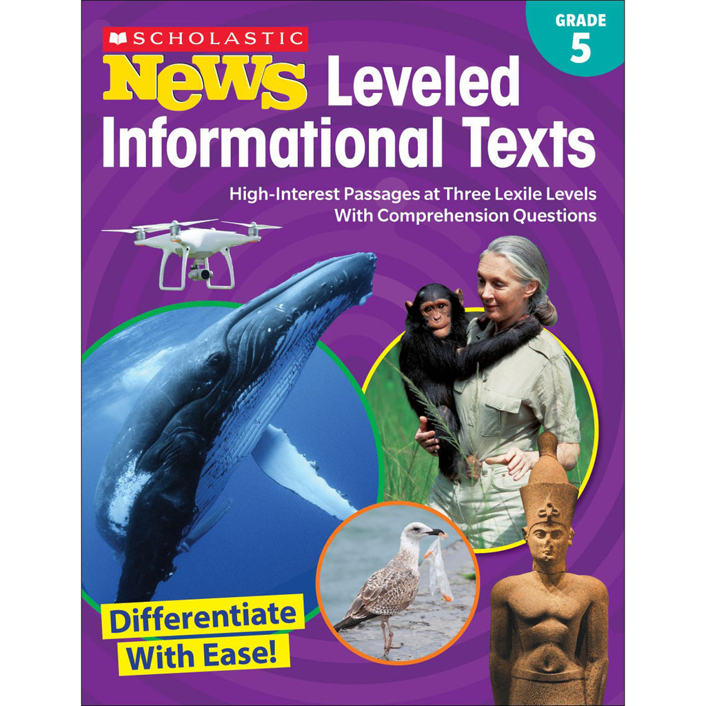 (2 Ea) Gr 5 Scholastic News Leveled Info Texts