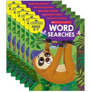 (6 Ea) Little Skill Seekers Word Searches