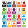 (2 St) Colors & Shapes Bulletin Board Set