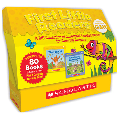 Guided Reading Levels G & H First Little Readers - Student Spotlight