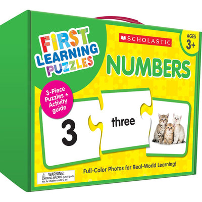 First Learning Puzzles Numbers