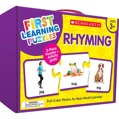 First Learning Puzzles Rhyming