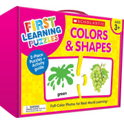First Learning Puzzles Colrs&shapes