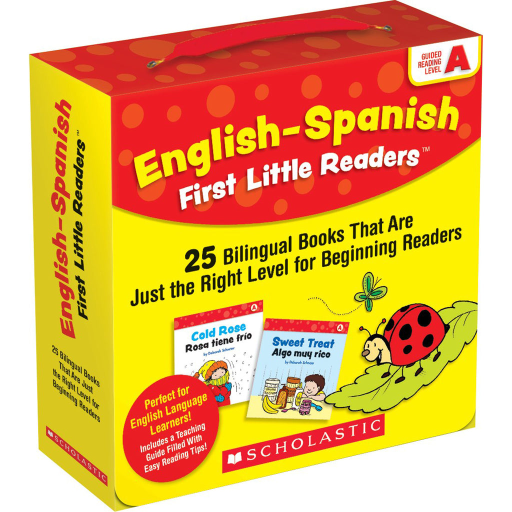 English-spanish Reading Level A First Little Readers - Student Spotlight