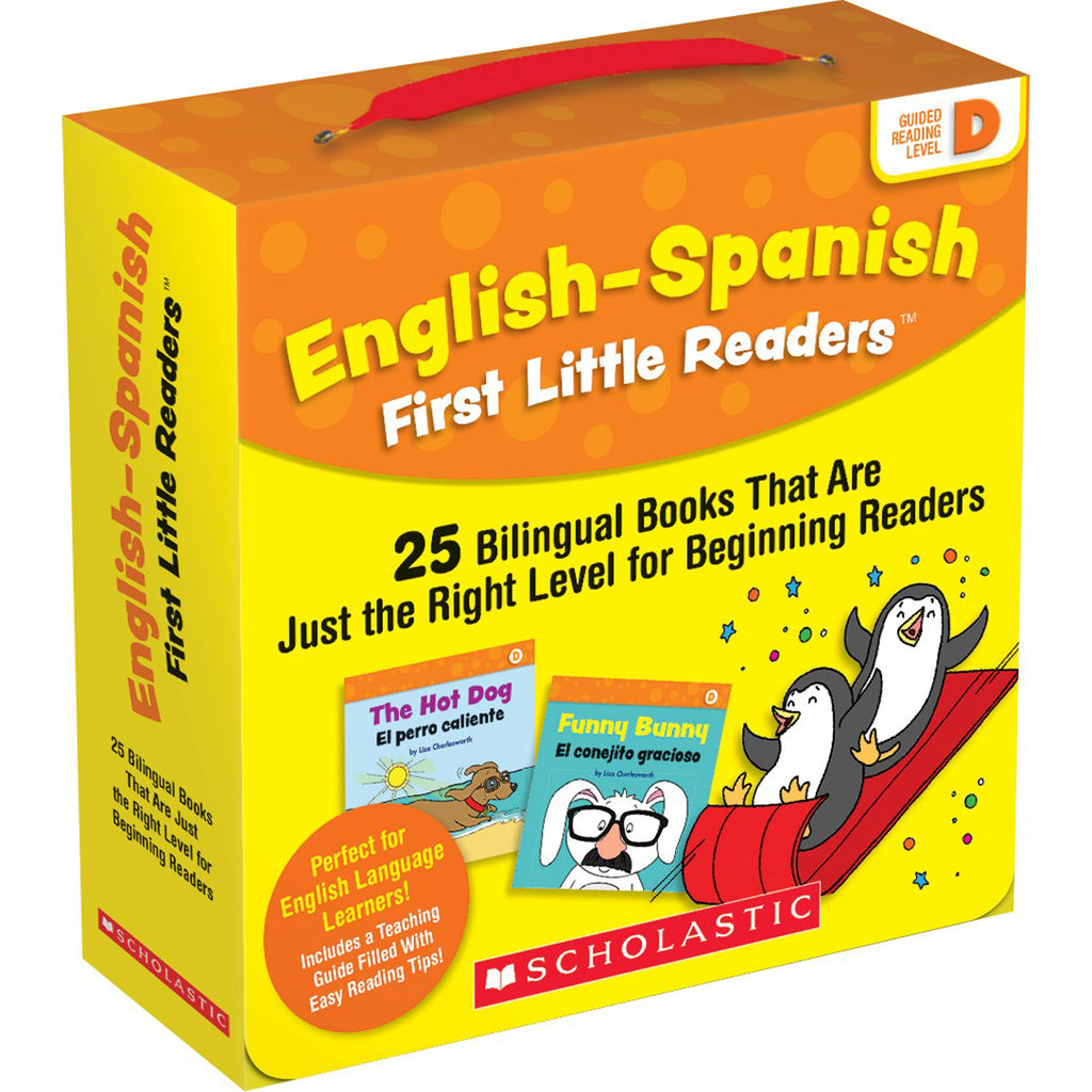 English-spanish Reading Level D First Little Readers