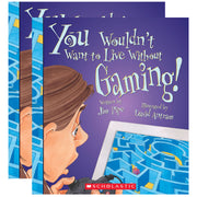 (2 Ea) You Wouldnt Want To Live W-o Gaming Book