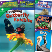 Smithsonian Animals & Ecosystems Gr 4-5 6 Book Set - Student Spotlight