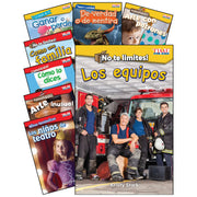 Social Studies-lang Arts Spanish Gr K-1 8 Book Set Time For Kids