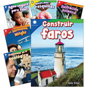 Creative Solutns Spanish Grades K-1 6 Book Set Smithsonian Info