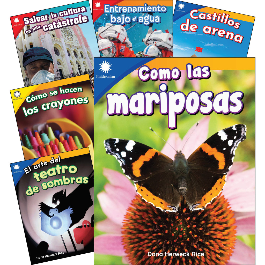 Fun In Action Spanish Grades K-1 6 Book Set Smithsonian Info
