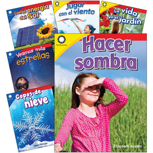 The Natural World Spanish Gr K-1 6 Book Set Smithsonian Info