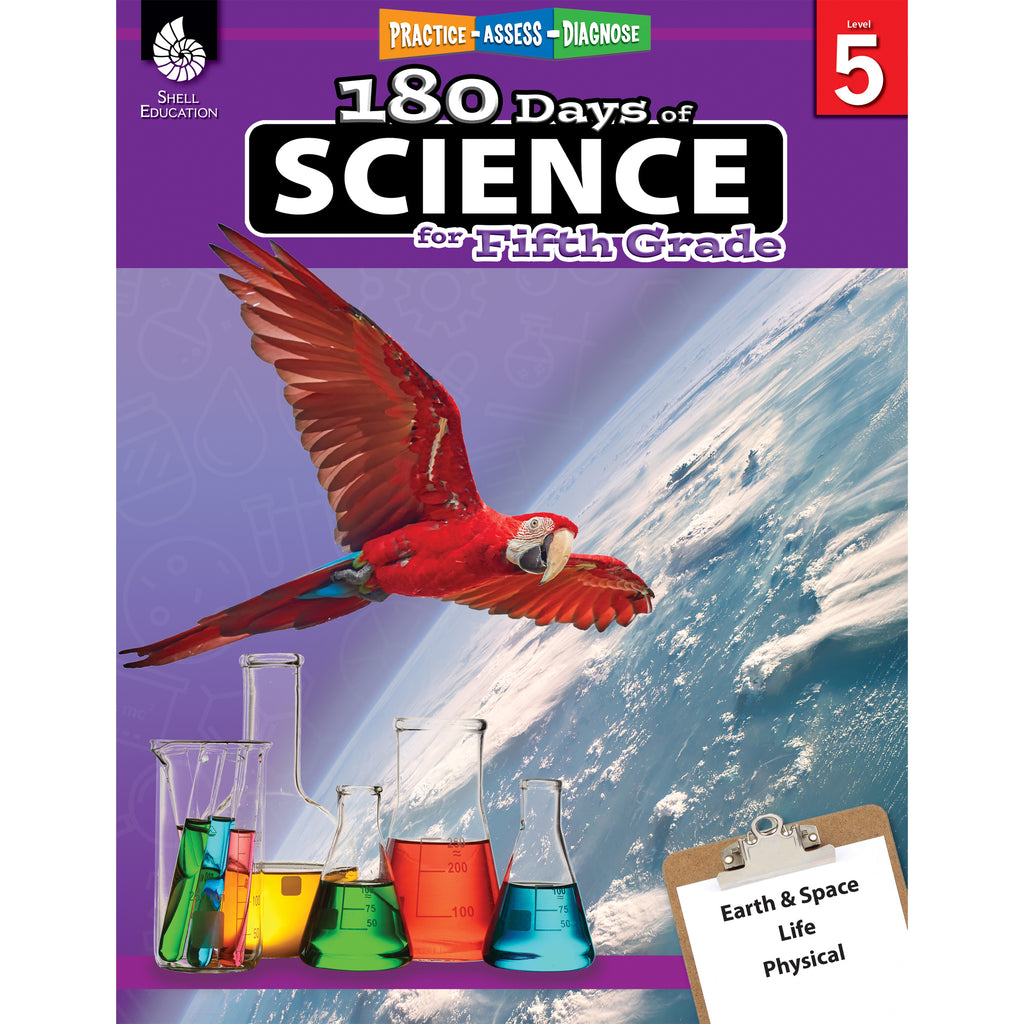 180 Days Of Science Grade 5