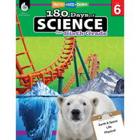 180 Days Of Science Grade 6