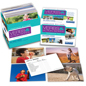 Lang Builder Picture Cards Verbs
